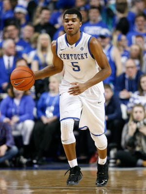 Kentucky point guard Andrew Harrison must improve his decision-making.