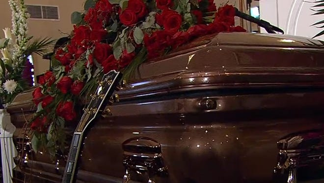 B.B. King's funeral in Indianola, Miss.