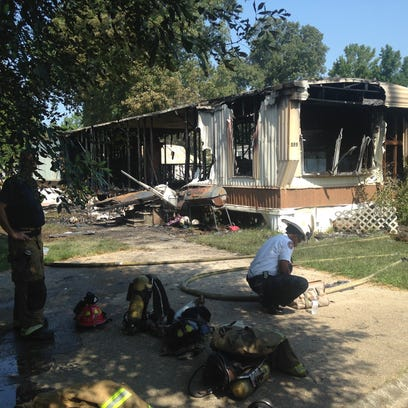 Shreveport firefighters saved a child from a burning