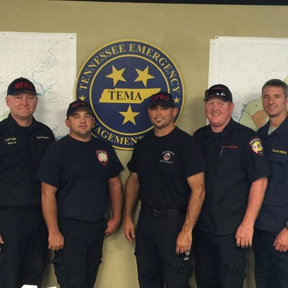 MFRD Special Ops Personnel (L to R): Captain/Shift