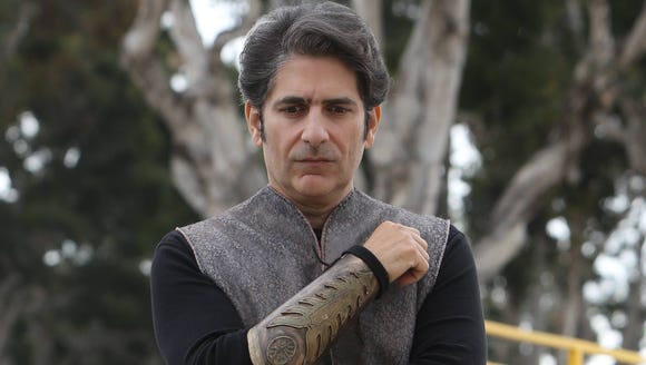 Michael Imperioli, who will play New York Gov. Andrew
