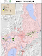 The Nature Conservancy has restoration projects throughout the Reno-Tahoe area, including the lower Truckee River