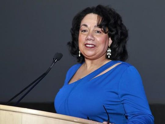 Gail Perry-Mason was the event's mistress of ceremonies.