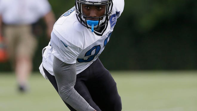 The Detroit Lions have promoted cornerback Alex Carter to the main roster.