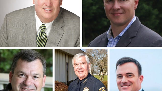 Greenville Co. sheriff's candidates