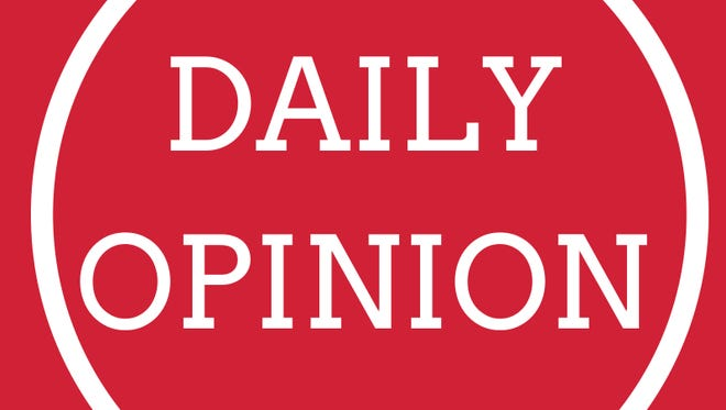 Today's opinion from our editorial board.