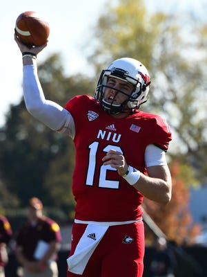 Northern Illinois Huskies quarterback Drew Hare.
