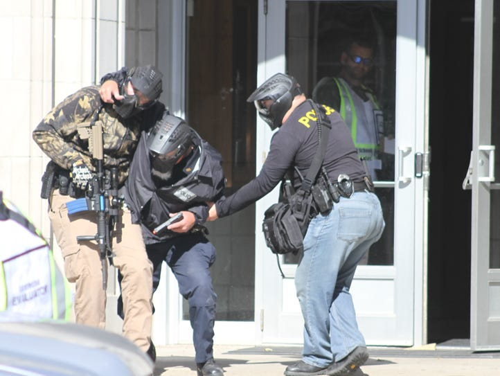 Active shooter drill Monday, Oct. 16, at Iowa Valley