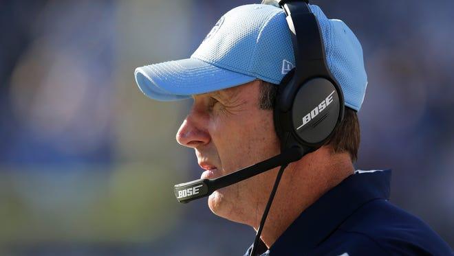 Titans coach Mike Mularkey