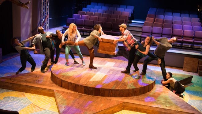 """Godspell"" opens at The Eagle Theatre with new twists."