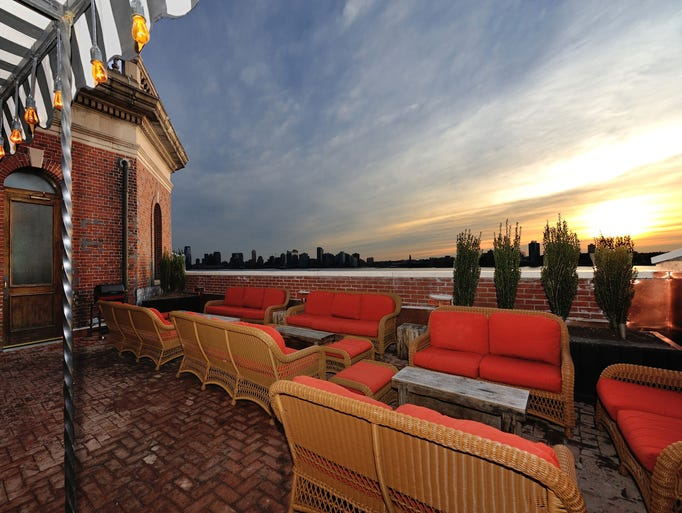 Rooftop restaurants and bars for Hotel americano nyc