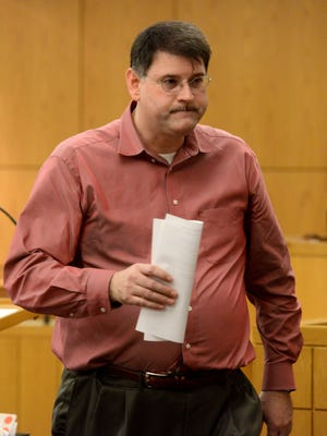 Brian Mitchell Lee, 43, is sentenced to two years community control, 13 years probabtion and given sex offender status on Monday for traveling to meet a minor to engage in sexual contact, unlawful use of a two-way communications device to facilitate the commission of a felony, and using a computer to solicit the sexual conduct of a child.