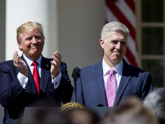 ***BESTPIX*** Neil Gorsuch Is Sworn In As Associate Justice To Supreme Court
