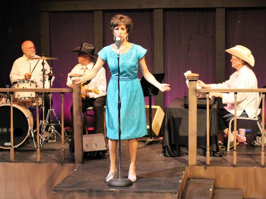 "A four-piece band provides live music and Dedra Knox performs 27 songs in Angelo Civic Theatre's 2017 production of ""Always...Patsy Cline."""