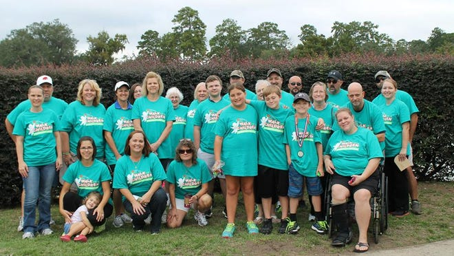 Team Donovan at the 2014 Walk for Apraxia.