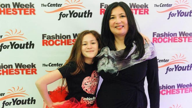 Reporter Mary Chao and her daughter Noelle Nafus, an eighth-grader at Twelve Corners Middle School in Brighton, will model fall fashions.