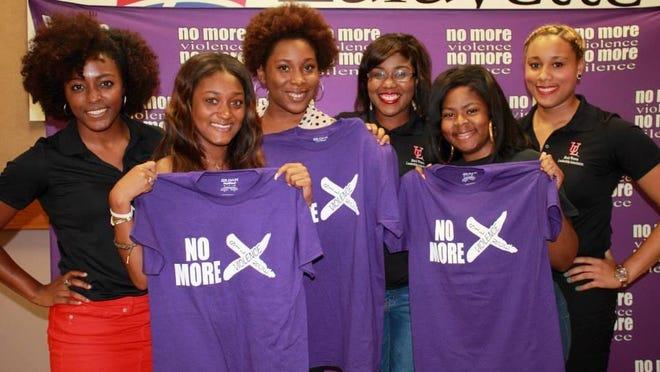 "faith House kicks off its ""No More Violence, No More Silence"" campaign."