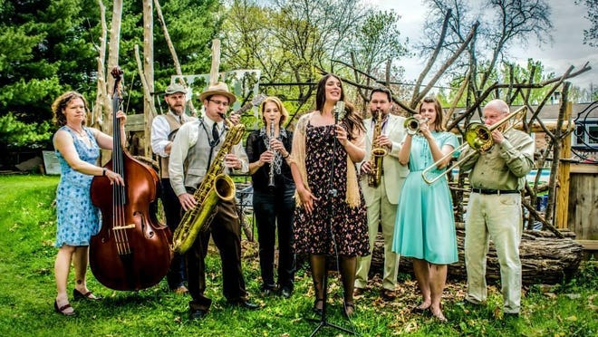 Special to the Register The Dandelion Stompers of Iowa City will bring their New Orleans-inspired sounds to the Celebrate Iowa Gala on Friday at the State Historical Museum. The Dandelion Stompers of Iowa City.