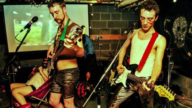 The Newman Brothers will reunite Sunday afternoon for a benefit show at the Rongovian Embassy in Trumansburg.