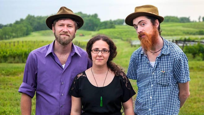 Milkweed is, from left, Peter Lister, Jacqueline Colombo and Joseph Alston.