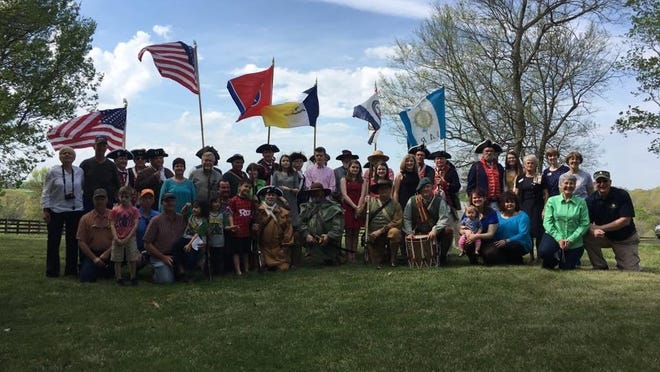 Twenty-nine direct descendants of Moses Winters attended a recent grave marking ceremony in his honor.