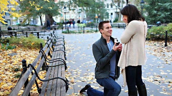 """""""I took the reigns on wedding planning, because I could balance my time,"""" Kaela says. """"And enjoyed it! It became my hobby while we were engaged."""" The two got married May 24, 2014."""