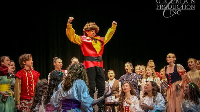 """St. Johns Middle School put on the junior version of Disney's """"Beauty and the Beast"""" last April and now 22 of the original cast of 50 people are headed to Atlanta, Georgia to perform selections of it before the attendees at the 2019 Junior Theater Festival Atlanta from Jan. 18-20."""