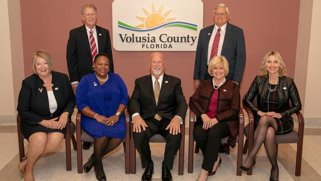 The Volusia County Council, seen here in a 2019 county photo, is set to discuss several proposed ballot questions this Tuesday at the regular County Council meeting.