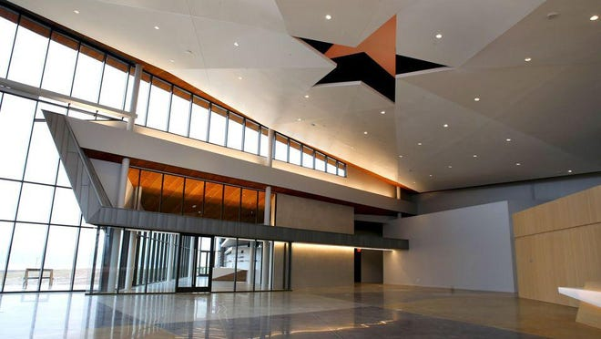 The United States Marshals Museum building in Fort Smith was completed in the fall of 2019. The USMM Foundation recently announced it had raised $400,000 of a $500,000 matching grant that was provided in April.