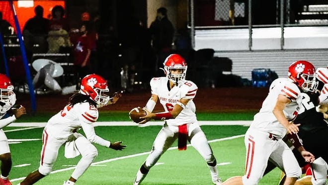 Led by two touchdowns from quarterback Malachi Vann (6) and a late defensive stand, Fort Scott held off Wamego 22-18 on Friday to improve to 5-0. The Tigers were just 1-8 last season.