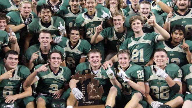 The Zeeland West football program won two state titles during the decade.