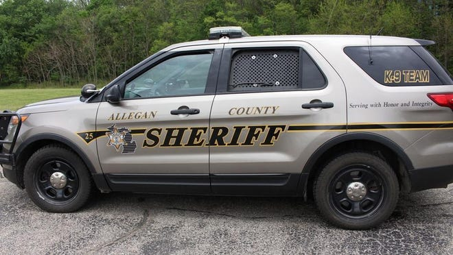 The Allegan County Sheriff's Office is investigating after a suspicious vehicle drove into the Kalamazoo River Wednesday morning.