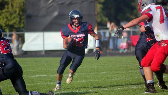 Brent Sweet does a little bit of everything for the Lakewood football team.