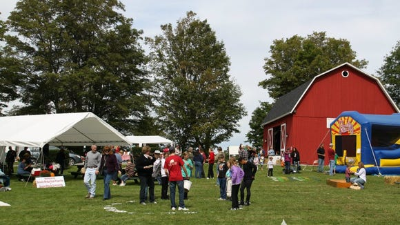 A scene from the 2011 Harvest Festival. photo by Caurie Putnam
