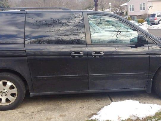 Suspect's vehicle.
