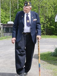 Ralph Osterhoudt at his home in Hyde Park on May 18,