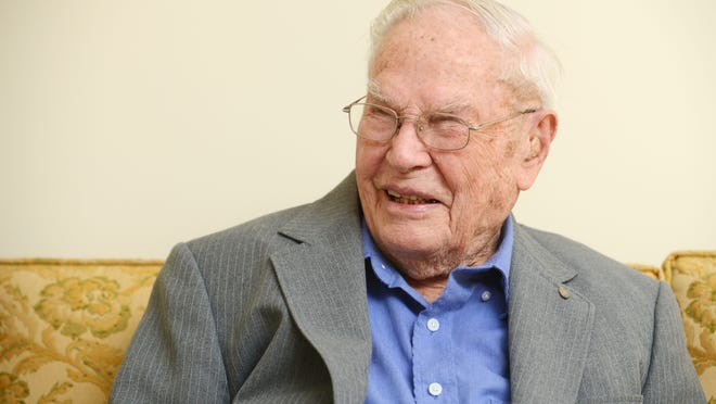 Lister Endsley, the oldest living World War II veteran in Coshocton County, died on Dec. 14 at the age of 102. In a 2014 interview with the Tribune, Endsley said he avoided the draft twice with a farm deferment, but decided to go when his name came up a third time and was glad he did. After his military service, Endsley said he could have went anywhere he wanted, but returned home because of how much he liked Coshocton.