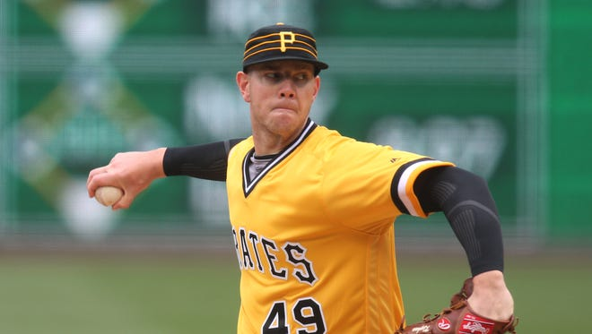 In four starts at Class AAA Indianapolis, Nick Kingham had a 2-1 record and 1.59 ERA.