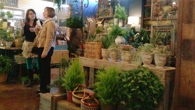 Black thumb? Porch Therapy at East End Market sells beautiful baskets and pottery that have multiple uses.