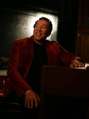 Smokey Robinson performs Friday in Wetumpka.