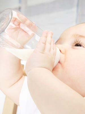 Breast fed or bottle fed?