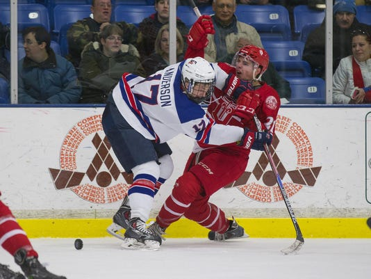 USA NTDP u18 vs Dubuque Fighitng Saints
