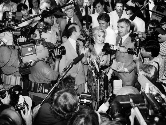 Zsa Zsa Gabor dies at 99; she had glamour and husbands in spades