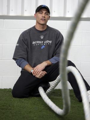 Detroit Lions coordinator for physical development Jason Arapoff, on March 13, 2009, at the Allen Park practice facility.