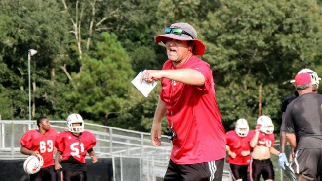 South Effingham football coach Nathan Clark is coming off a winning season in 2019, his first at the Guyton high school.