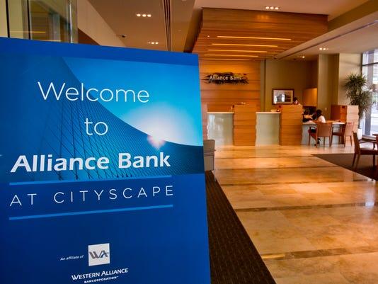 Western Alliance Bancorporation division Alliance Bank