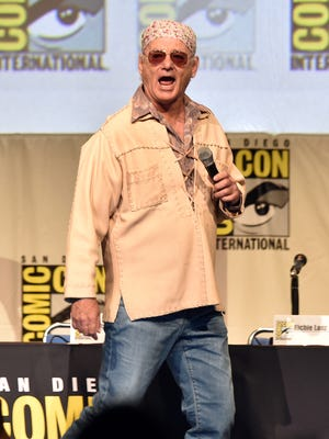 Actor Bill Murray speaks onstage at the Open Road panel during Comic-Con International 2015.