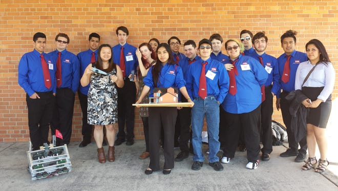 Vineland High School Career and Technical Education students participated in the annual Technology Student Association State Competition at The College of New Jersey.