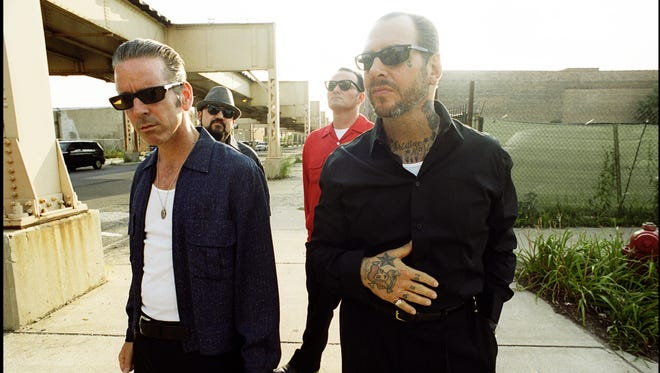 The band Social Distortion performs Sunday at the Redding Civic Auditorium.