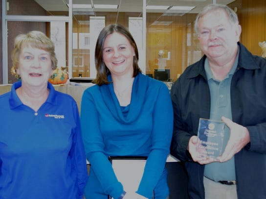 Brandi Warren was presented with an Employee Excellence